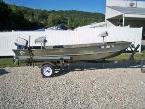 used 1980 jon boat